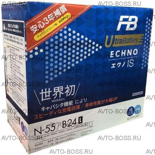 Аккумулятор FB UltraBattery EFB N-55 Ёмкость 45 Ah, пусковой ток 470 А, 237x128x227