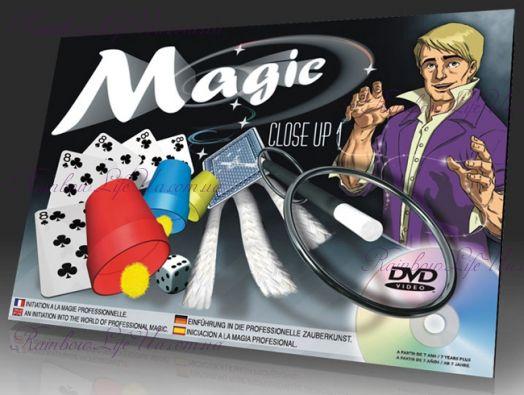 """Фокусный набор с dvd Крупным планом """"OID Magic"""""""