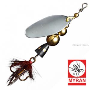 Блесна вертушка Myran Mira 10гр / цвет: Silver 6474-01
