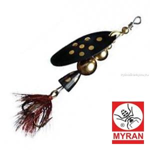 Блесна вертушка Myran Mira 15гр / цвет: Black 6475-09