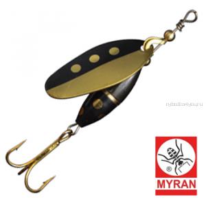 Блесна вертушка Myran Panter Harr 3гр / цвет: Guld 6580-HA-G