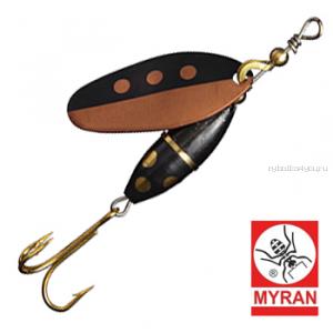 Блесна вертушка Myran Panter Harr 3гр / цвет: Koppar 6580-HA-K