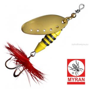 Блесна вертушка Myran Sting 12гр / цвет: Guld 6512-02