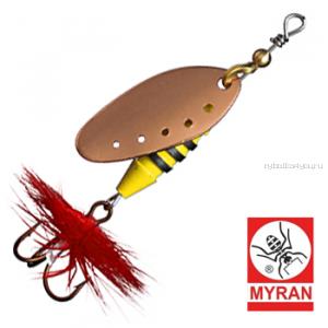 Блесна вертушка Myran Sting 5гр / цвет: Koppar 6510-03
