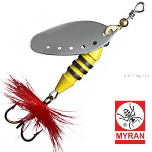 Блесна вертушка Myran Sting 5гр / цвет: Silver 6510-01
