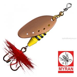 Блесна вертушка Myran Sting 7гр / цвет: Koppar 6511-03