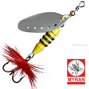 Блесна вертушка Myran Sting 7гр / цвет: Silver 6511-01