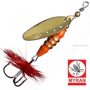 Блесна вертушка Myran Toni 12гр / цвет: Guld 6432-02