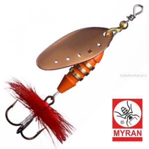 Блесна вертушка Myran Toni 12гр / цвет: Koppar 6432-03