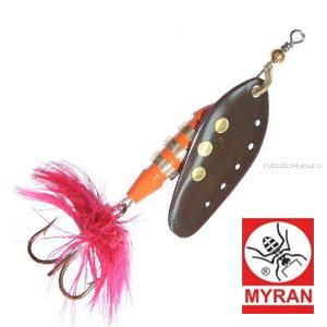 Блесна вертушка Myran Toni 18гр / цвет: Black 6433-09