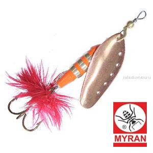 Блесна вертушка Myran Toni 18гр / цвет: Copper 6433-03