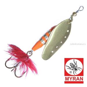 Блесна вертушка Myran Toni 18гр / цвет: Gold 6433-02