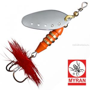 Блесна вертушка Myran Toni 7гр / цвет: Silver 6431-01
