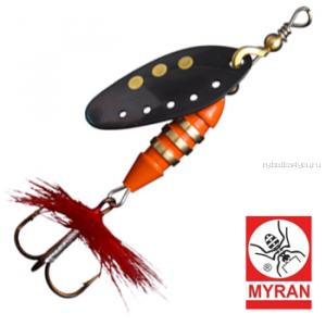 Блесна вертушка Myran Toni 7гр / цвет: Svart 6431-09