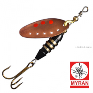 Блесна вертушка Myran Toni-Z 12гр / цвет: Koppar 6422-03