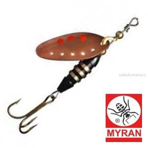 Блесна вертушка Myran Toni-Z 18гр / цвет: Copper 6423-03