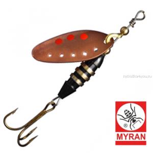 Блесна вертушка Myran Toni-Z 5гр / цвет: Koppar 6420-03