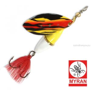 Блесна вертушка Myran Wipp 10 гр / цвет: Flame 6843-254