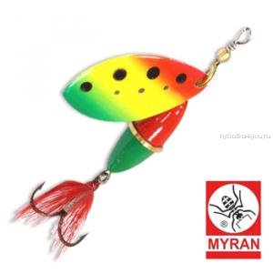 Блесна вертушка Myran Wipp 10 гр / цвет: Zulo 6843-259