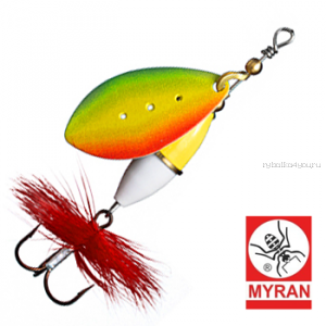 Блесна вертушка Myran Wipp 3гр / цвет: Rainbow 6640-RB
