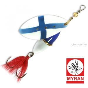 Блесна вертушка Myran Wipp 7 гр / цвет: Finland 6842-500