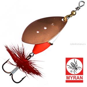 Блесна вертушка Myran Wipp Hot 3гр / цвет: Koppar 6540-03
