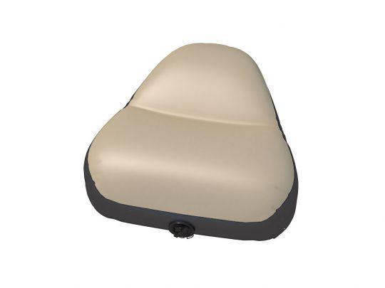 Сиденье надувное в нос лодки 49х52х30 см серое