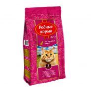 РОДНЫЕ КОРМА сухой корм для взрослых кошек МЯСНОЕ РАГУ (2,045кг)