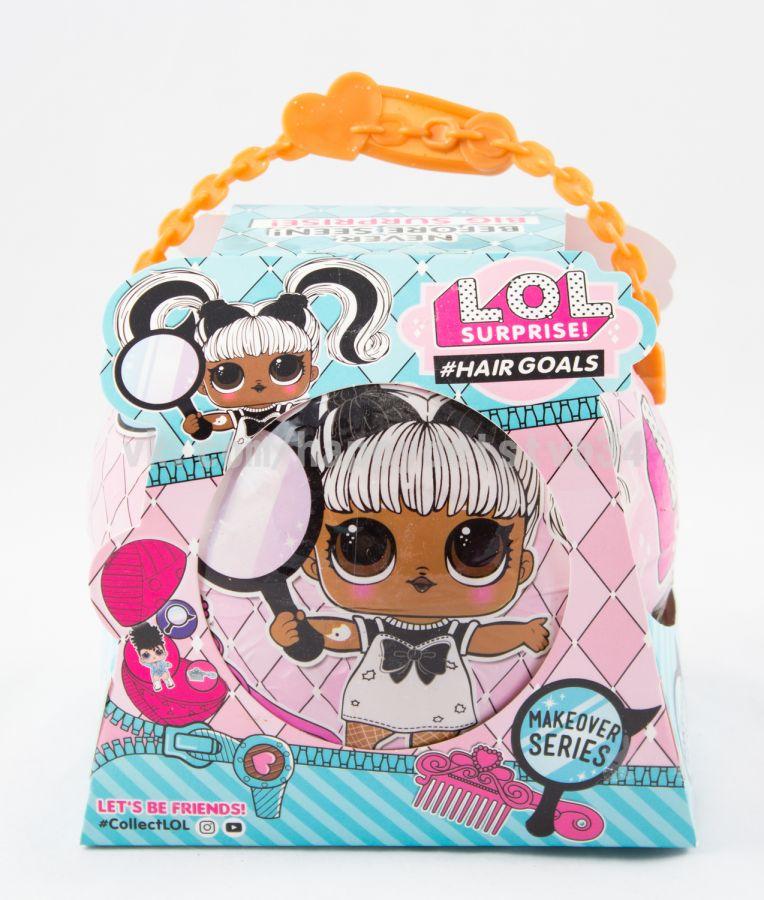 БОЛЬШОЙ шар-сюрприз с куклой ЛОЛ, одеждой, аксессуарами