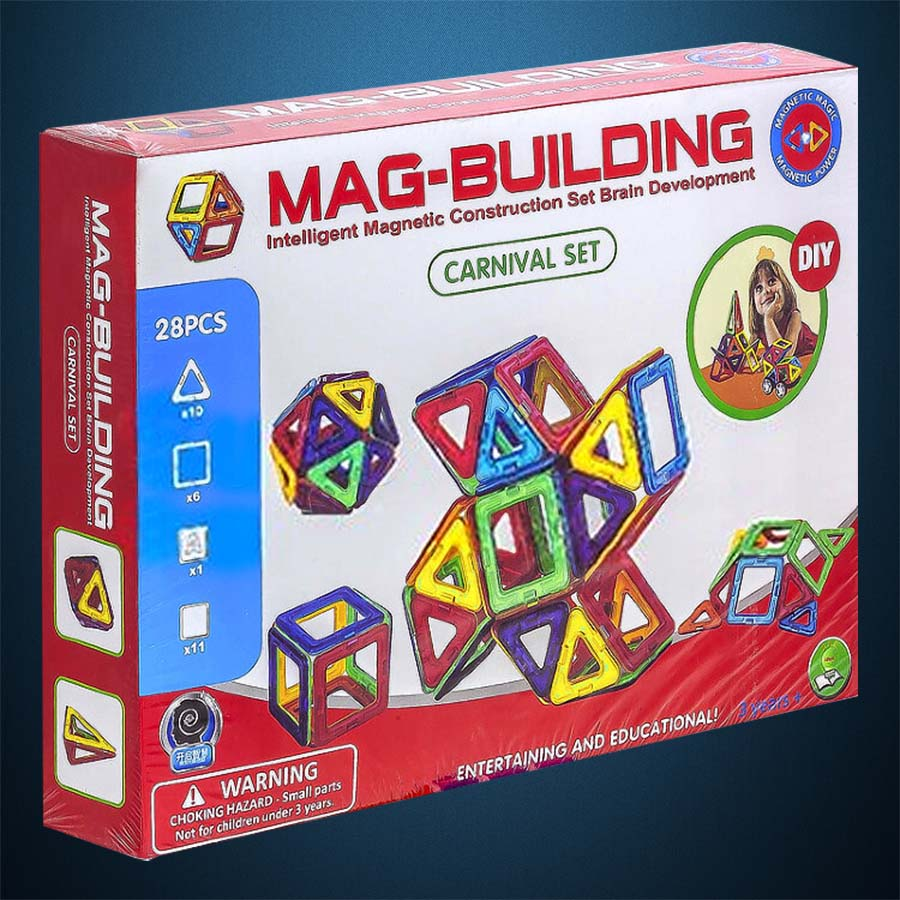 Магнитный конструктор Mag-Building 28 деталей