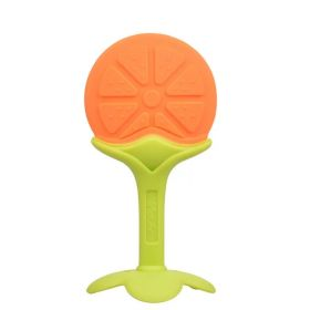 Прорезыватель силиконовый Апельсин