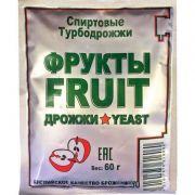 Дрожжи спиртовые Turbo Fruit, 60 гр