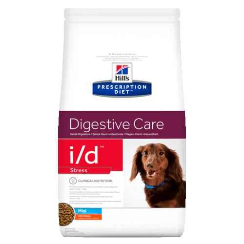 Корм сухой HILL's DIETI/D Stress Canine Mini для cобак малых пород для лечение ЖКТ при стрессе 5кг