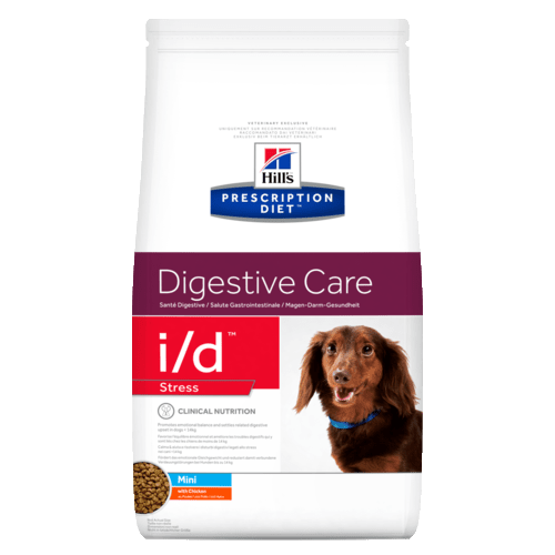 Корм сухой HILL's DIETI/D Stress Canine Mini для cобак малых пород для лечение ЖКТ при стрессе 1.5кг