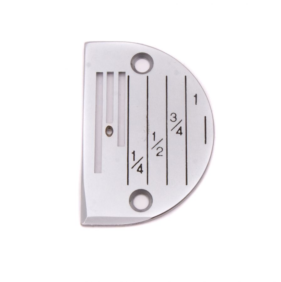 Игольная пластина 3х рядная с разметкой (B16/B18/B20/B22/B24)