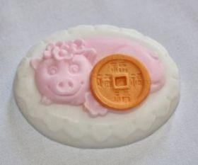 Форма для мыла Денежная свинка