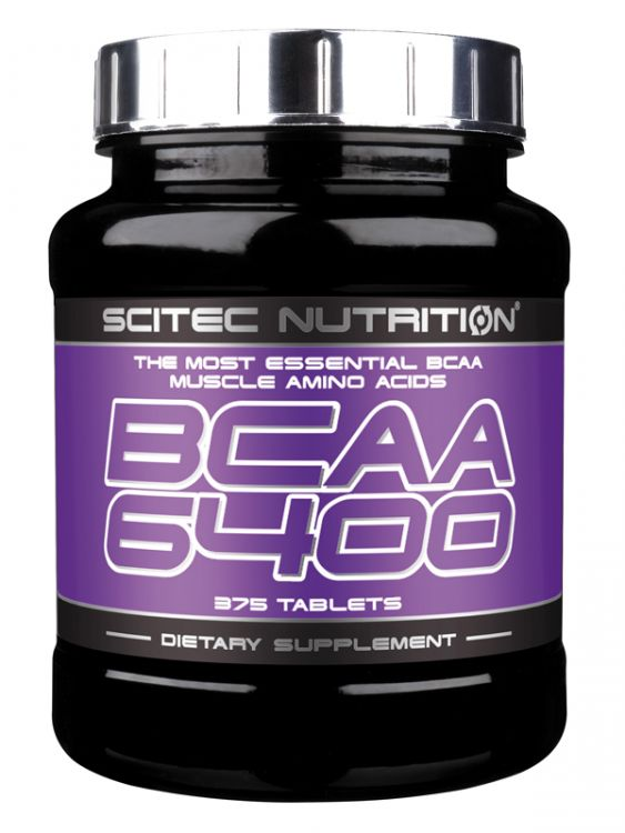BCAA 6400 от Scitec Nutrition 125 таб