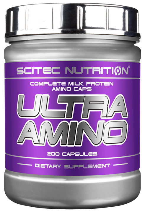ULTRA AMINO от SCITEC NUTRITION 200 капсул