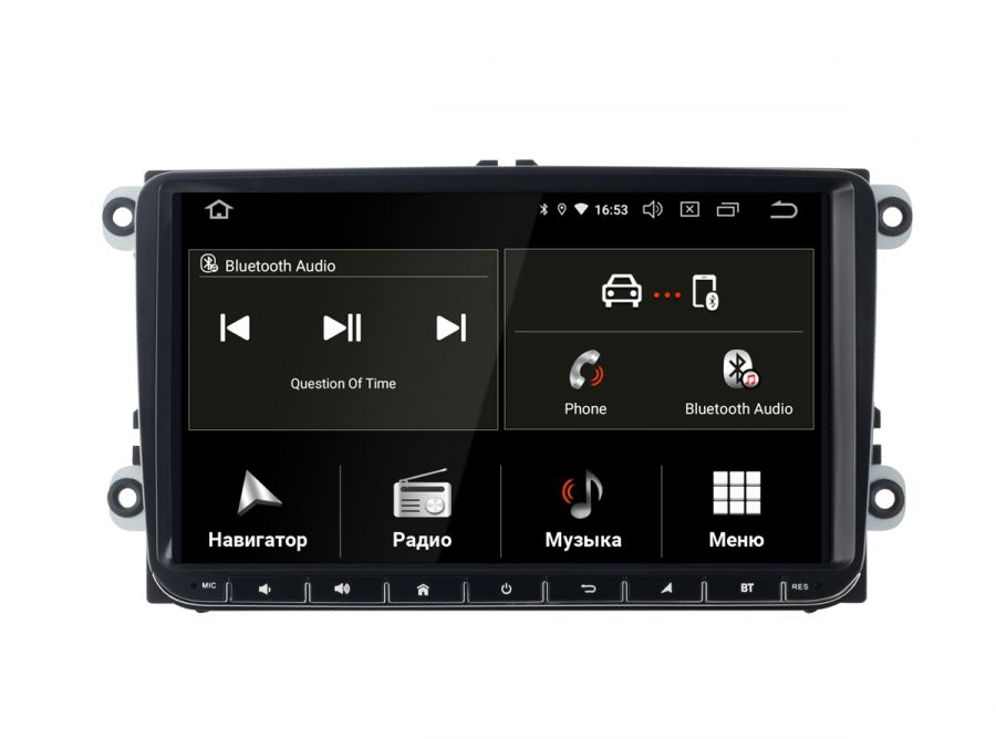 Штатная магнитола INCAR TSA-8644 для VW Passat, Golf, Jetta, Caravelle, Transporter, (Android 9.0)
