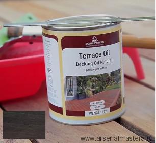Масло датское Borma Decking Oil 125 мл для террас цвет Венге 4971IL-1472.125
