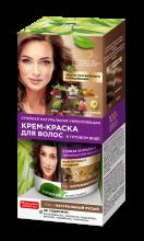 Стойкая натуральная укрепляющая крем-краска для волос серии «Народные рецепты» Тон Натуральный русый 120 мл