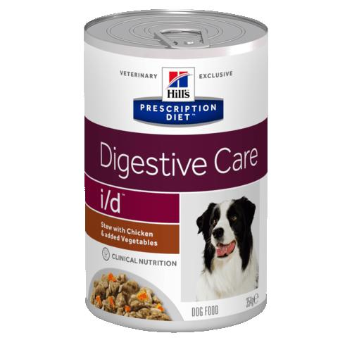 Консервы HILL's Diet i/d рагу для собак при расстройствах желудка, с курицей 354гр
