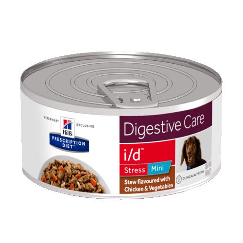 Консервы HILL's Diet i/d stress mini рагу для собак малых пород при лечении ЖКТ и стрессе, с курицей 156 гр