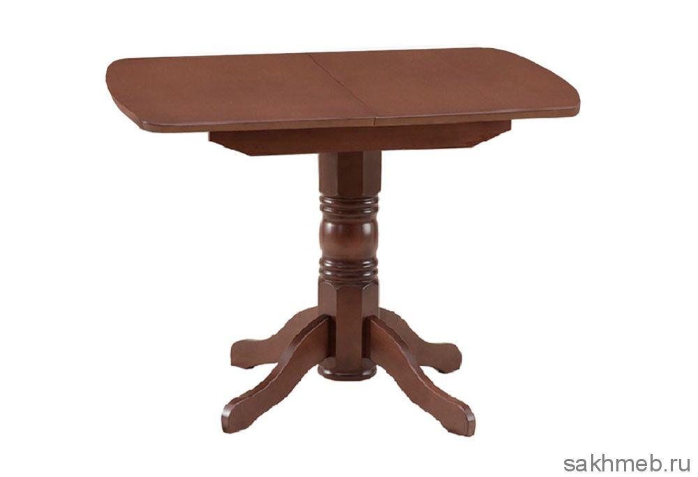 Стол раздвижной овальная крышка шпон (Боровичи)