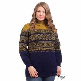 Свитер женский вязаный из Исландской шерсти 214202-03