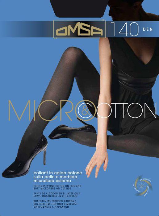 колготки OMSA Micro&Cotton 140