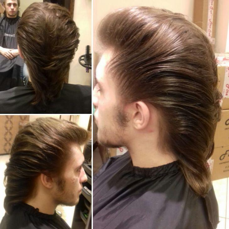 Стрижка на длинные волосы.