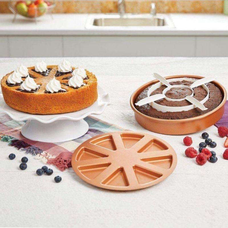 Многофункциональная форма для выпечки Copper Chef Perfect Cake Pan