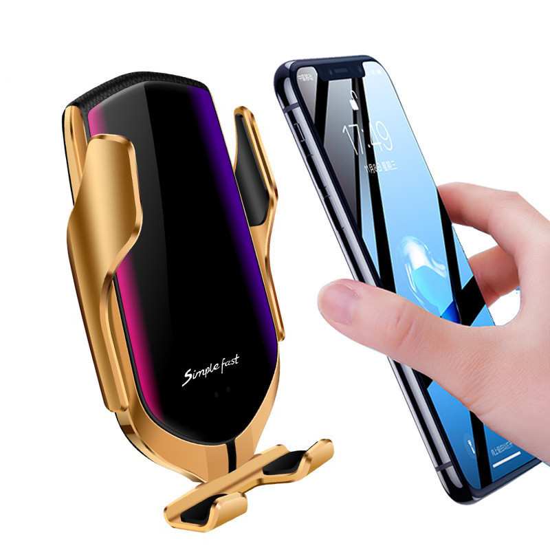 Держатель для телефона с функцией зарядки Smart Sensor R1