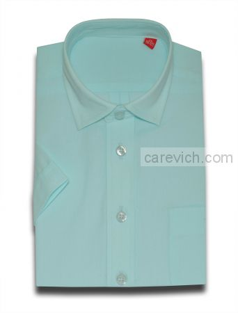 Рубашка с коротким рукавом дошкольная, опт 10 шт., артикул: Blue Light-к
